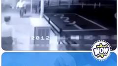 CCTV Penampakan Hantu Ikut Masuk Taksi