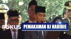 Jokowi Bacakan Apel Persada di Pemakaman Almarhum BJ Habibie - Selamat Jalan BJ Habibie