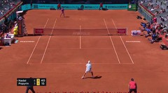 Match Highlights | Rafael Nadal 2 vs 0 Alexei Popyrin | Mutua Madrid Open 2021