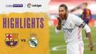 Match Highlight | Barcelona 1 vs 3 Real Madrid | La Liga Santander 2020