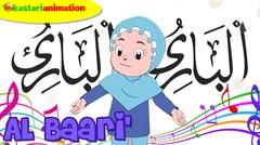 AL BAARI' |  Lagu Asmaul Husna Seri 2 Bersama Diva | Kastari Animation