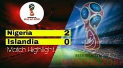 NIGERIA Vs ISLANDIA (2-0) Highlight & goal