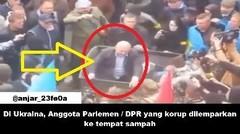 Di Ukraina, Anggota Parlemen/DPR dilemparkan ke tempat sampah sebab nya ini