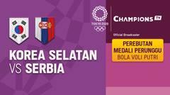 Full match | Bola Voli Putri | Perebutan Medali Perunggu - Korea Selatan vs Serbia | Olimpiade Tokyo 2020