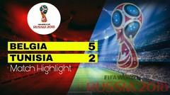 BELGIA Vs TUNISIA (5-2) Highlight&Goal