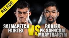 Saemapetch vs. Rodlek | ONE Championship Full Fight