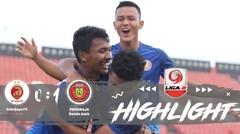 Full Highlight - Perebutan Juara 3 : Sriwijaya FC 0 vs 1 Persiraja Banda Aceh | Liga 2 2019