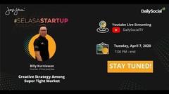 #SelasaStartup Creative Strategy Among Super Tight Market with Founder of Kopi Janji Jiwa