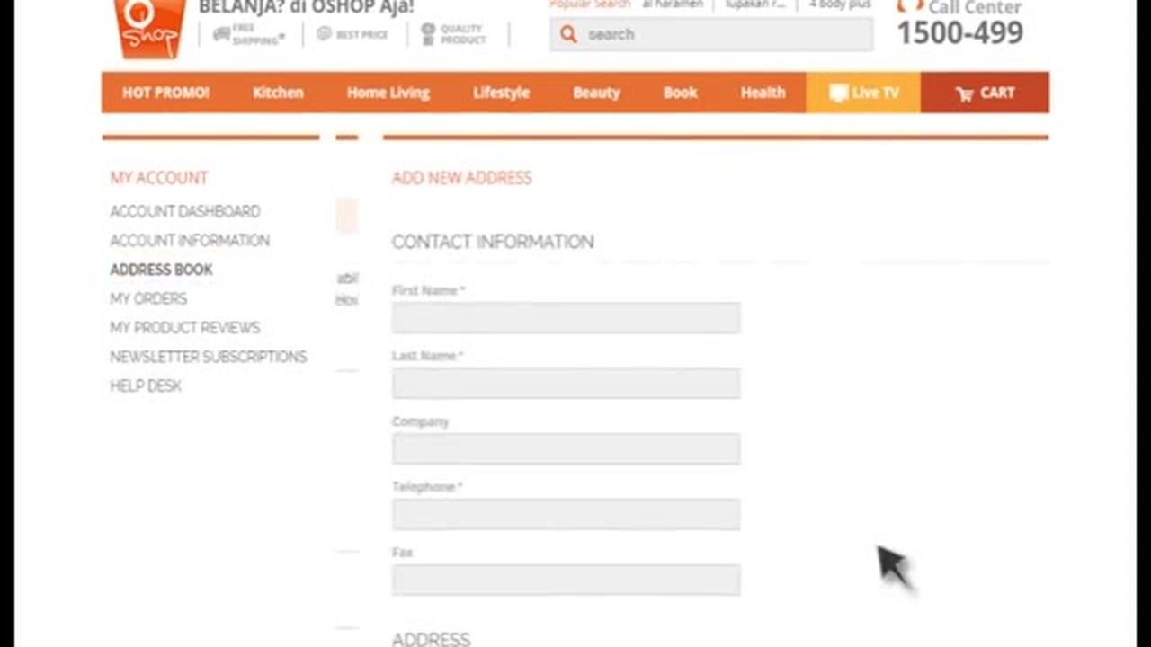cara mudah belanja di www oshop co id