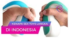 Kenapa Sex Toys Langka di Indonesia