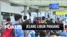 Pantauan Stasiun Senen Jelang Libur Panjang Cuti Bersama | Fokus