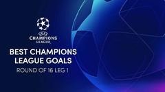 5 Gol Terbaik 16 Besar Leg 1 UEFA Champions League