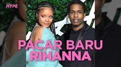Rihanna Pacaran dengan Rapper A$AP Rocky