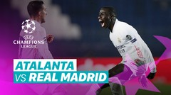 Mini Match - Atalanta vs Real Madrid I UEFA Champions League 2020/2021