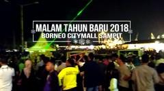 Malam tahun Baru 2018 di Borneo Citymall Sampit