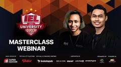 IEL Webinar Masterclass - Esports, Karir atau Hobi? - 19 Februari 2021