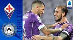 Match Highlight | Fiorentina 3 vs 2 Udinese | Serie A 2020