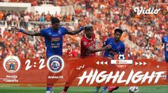 Persija Jakarta VS Arema FC  Full Highlight | Shopee Liga 1