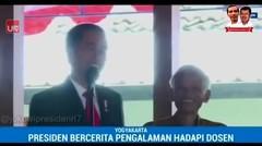 Jokowi Blak-blakan Dosen Pembimbing Skripsinya Galak
