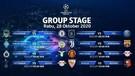 Jadwal Pertandingan   Group Stage Champions League   Matchday 02, 28 Oktober 2020