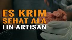 Sensasional, Kepulan Asap dari Es Krim Ini Bikin Nikmat!