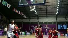 Full Highlight Bola Basket Putra Suriah vs Indonesia 76 - 66 | Asian Games 2018
