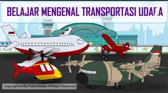 Media Pembelajaran | Belajar Mengenal Transportasi Udara | Untuk Anak-anak