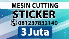 PUSAT MESIN CUTTING STICKER BREBES ALAT POTONG STIKER VINYL CATING POLYFLEX TERMURAH