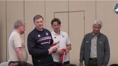 Penggiat Sepak Bola Indonesia Antusias Ikut Sharing Session Bersama Perwakilan Timnas Islandia