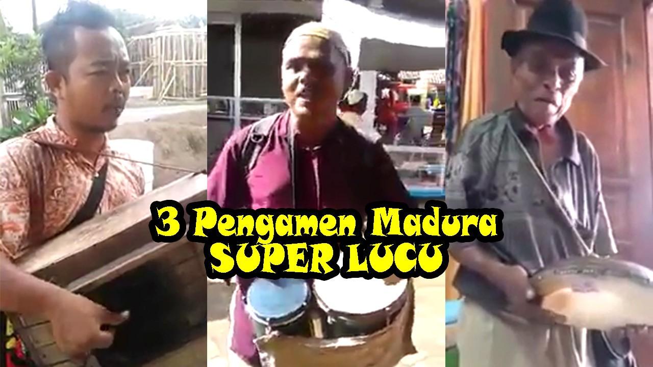 Streaming 3 Pengamen Madura Lucu Apalagi Yang Nomer 3 Wkwkwk Vidio Com