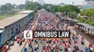Rekaman Konvoi Ratusan Buruh Lintasi Jalan Daan Mogot Menuju Istana
