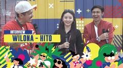 Hito & Wilona : Cinta karena Cinta, sampai 'Kita Ngeliat Gedung' | ON OFF FESTIVAL 2019