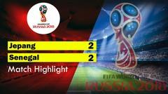 JEPANG Vs SENEGAL (2-2) Highlight&Goal