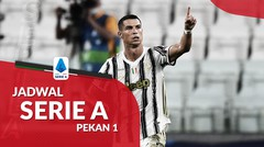 Jadwal Liga Italia Pekan 1, Juventus Hadapi Sampdoria pada Laga Perdana