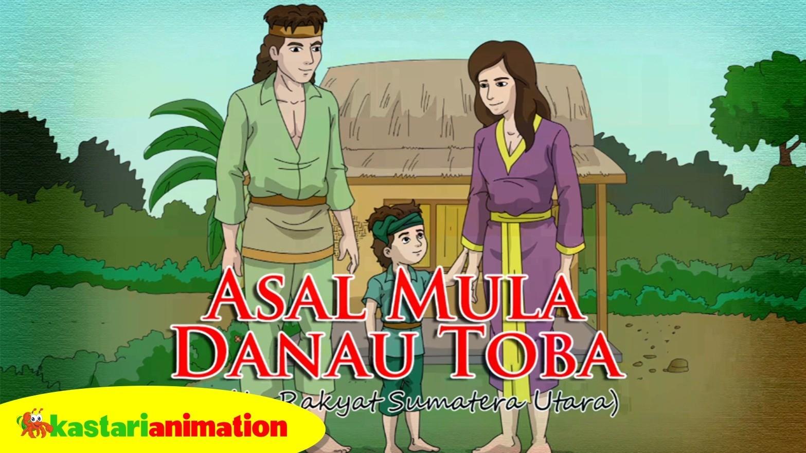 71+ Gambar Animasi Danau Toba HD