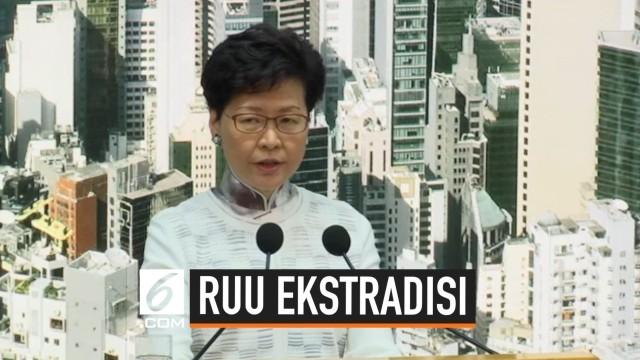 Tanpa Batas Waktu, Hong Kong Tunda RUU Ekstradisi