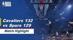 Match Highlight   Cleveland Cavaliers 132 vs 129 San Antonio Spur   NBA Regular Season 2019/20