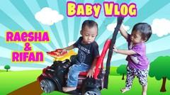 Lagu Anak Disini Senang disana senang-Raesha & Rifan Main Mobil-mobilan