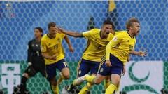 Cuplikan Pertandingan Swedia vs Swiss - Piala Dunia 2018 Rusia Dokter Bola