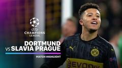 Full Highlight - Borussia Dortmund vs Slavia Praha I UEFA Champions League 2019/2020
