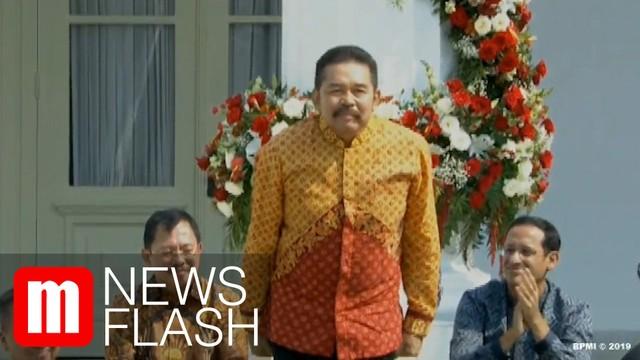 Sambutan Hangat Kejagung Buat ST Burhanuddin, Jaksa Agung Pengganti HM Prasetyo