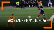 Highlight Liga Europa, Valencia Vs Arsenal 2-4