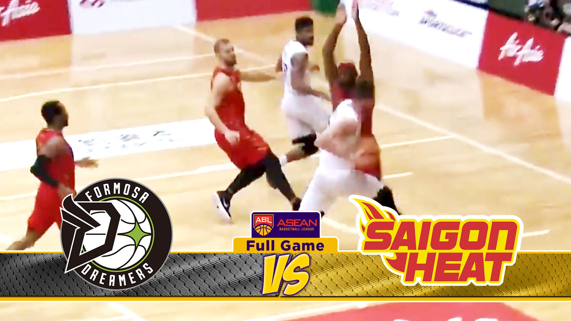 Full Games Formosa Dreamers VS Saigon Heat ABL 2018 2019 17