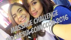MASSAGE (PIJET) CHALLENGE - INDONESIA COMIC CON 2016