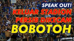 Keluar Stadion, Persib Dikecam Bobotoh!