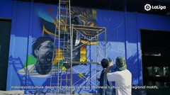 Bali Turut Serta dalam Kampanye United Streets of La Liga