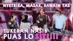 TUKAR NASIB! SEHARIAN JADI  ASISTEN.. PUAS LO SITI !!!!!   DIARY PRILLY