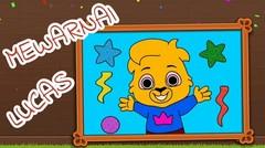Belajar Mewarnai Lucas! Game Menggambar untuk Anak TK dan PAUD #12