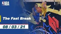The Fast Break | Cuplikan Pertandingan - 8 Maret | NBA All-Star 2020/21