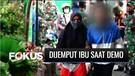 Pelajar Dijemput Orang Tua Saat Ikut Demo Tolak UU Cipta Kerja di Bogor